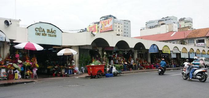 ベトナム・ホーチミン市。ベンタイン市場(Ben Thanh Market.)