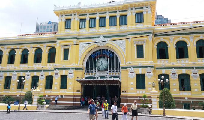 ベトナム ホーチミン市 サイゴン中央郵便局