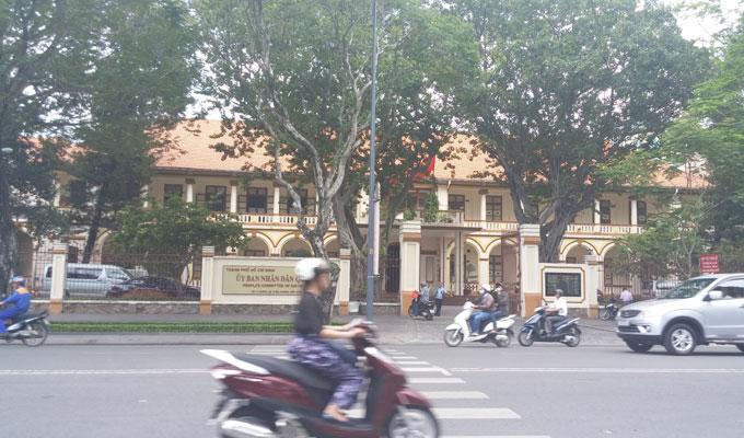 ベトナム・ホーチミン市1区 ドンコイ通り
