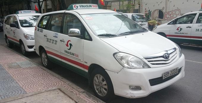 ベトナム・ホーチミン市1区 ビナサンタクシー(VINA SAN TAXI)