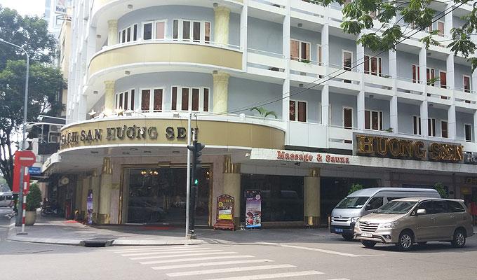 ベトナム・ホーチミン市。HUONG SEN