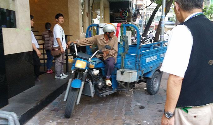 ベトナム・ホーチミン市。MIFUKI Inn