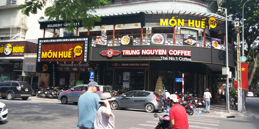 ベトナム・ホーチミン市。MON HUE。