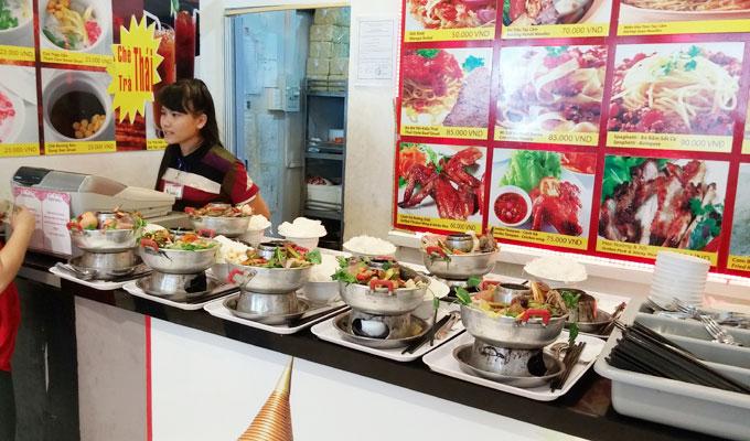 ベトナム・ホーチミン市。ホーチミンシティ。ベトナム料理の飲食店