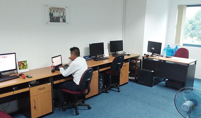 ベトナム・ホーチミン市。ホーチミンシティ。e.townのオフィス。