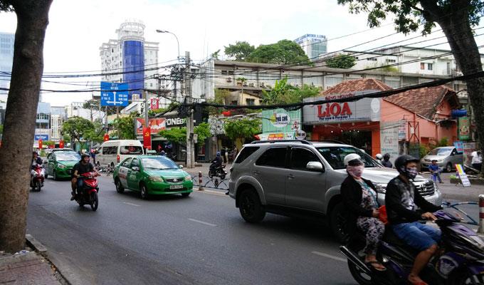 ベトナム・ホーチミン市。ホーチミン・戦争証跡博物館