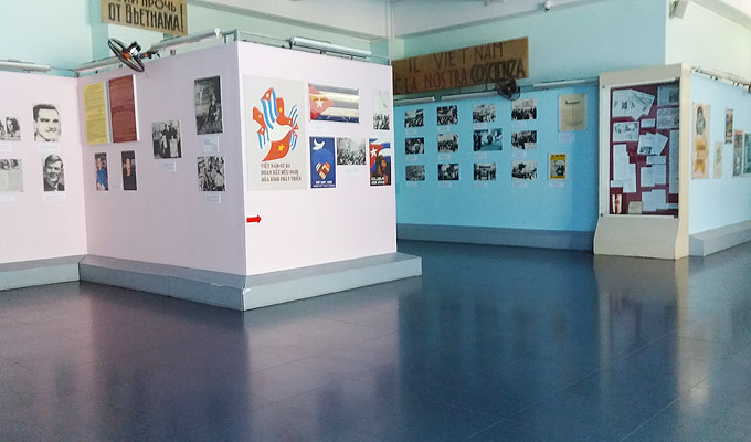 ベトナム・ホーチミン市。戦争証跡博物館(War Remnants Museum.)