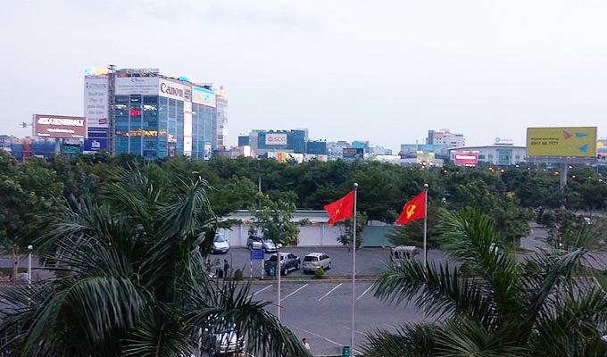 ベトナム・ホーチミン市。ホーチミン・シティ。タンソンニャット国際空港。ベトナムの都市化