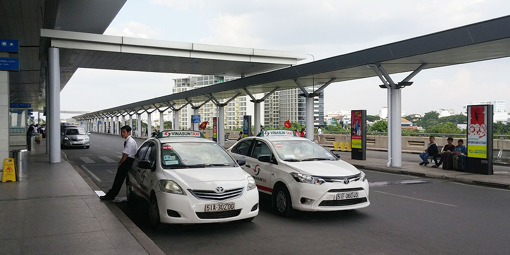 ベトナム・ホーチミン市。タンソンニャット国際空港(Tan Son Nhat International Airport.)