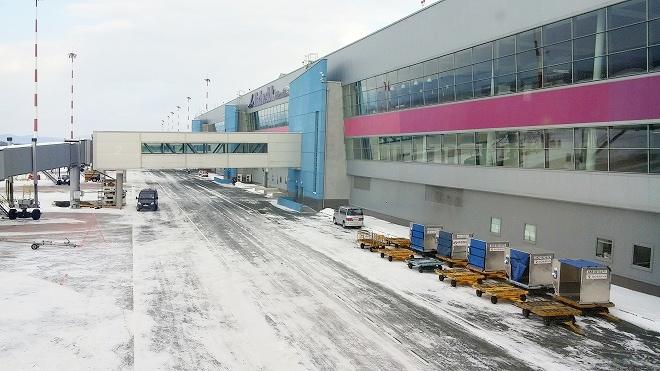 ロシア。ウラジオストク国際空港