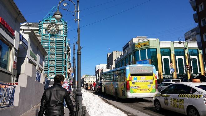 ロシア。ウラジオストク観光3
