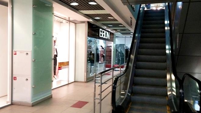 ロシア・ウラジオストク。クローバーハウス・ショッピングセンター