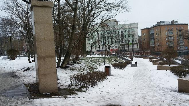 ロシア・ウラジオストク。スハノワスクエア