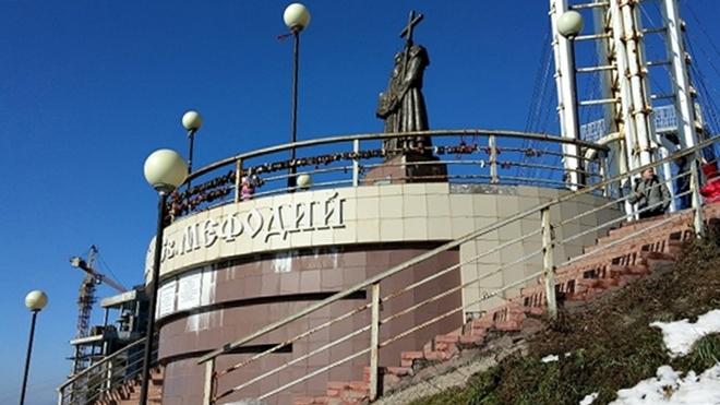 ロシア・ウラジオストク。鷹の巣展望台