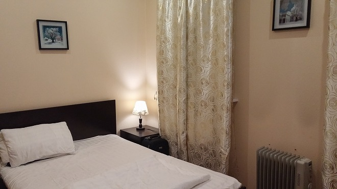 ロシア・ウラジオストク。サンライズ・アパートホテル