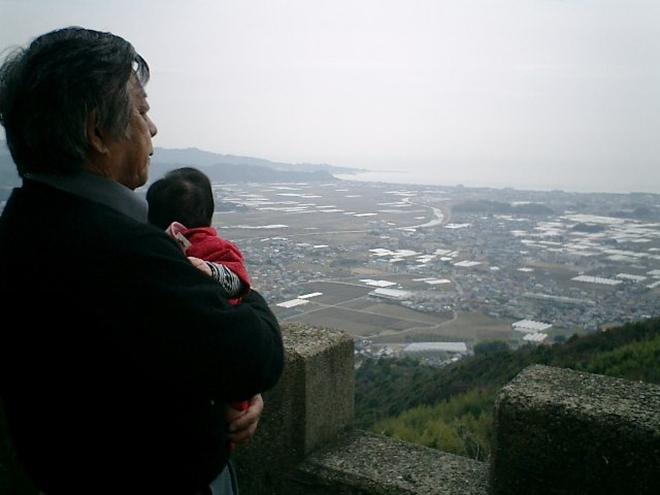 高知県香南市 三宝山からの眺望