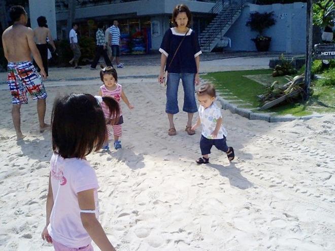 恩納村ホテルムーンビーチ 白砂のビーチ