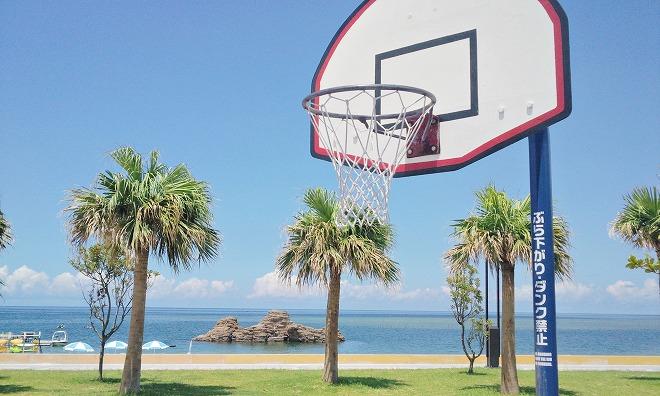 北谷町 安良波(アラハ)公園 バスケットコート