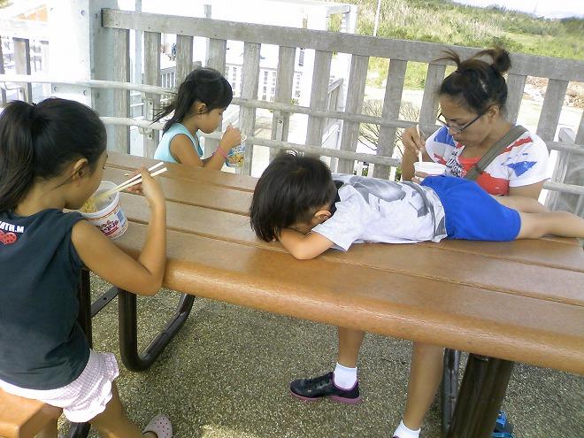 沖縄県糸満市 平和祈念公園「子ども広場」東屋