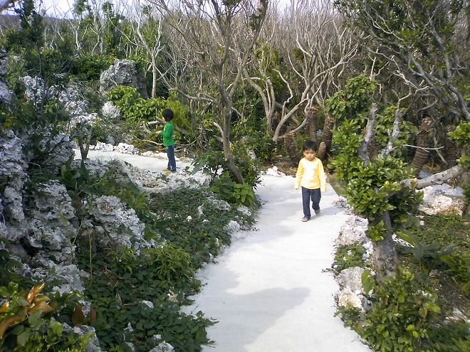 沖縄県うるま市 宮城島 果報バンタ(カフウバンタ)公園