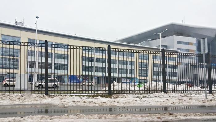 ロシア・ウラジオストク ルースキー島「ロシア極東連邦大学」キャンパス
