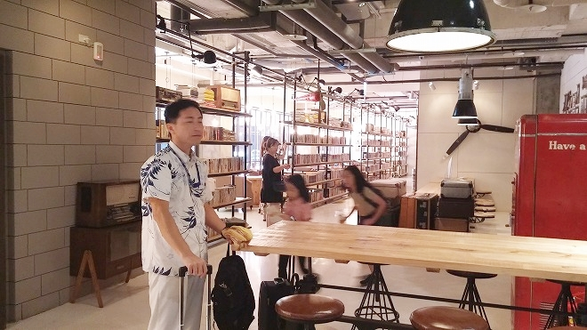 台湾 台北 西門ホテル パパ ホエール