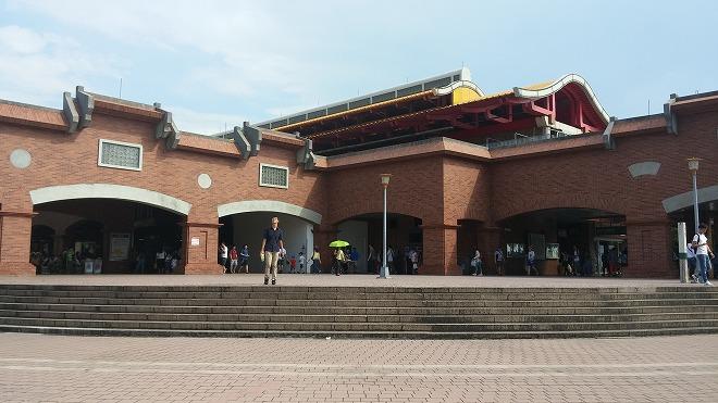 台湾 MRTレッドライン淡水駅