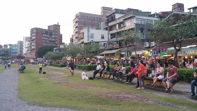台湾 淡水黄金水岸