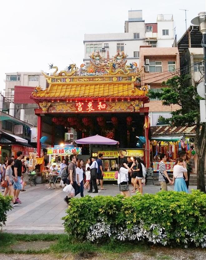 台湾 淡水老街