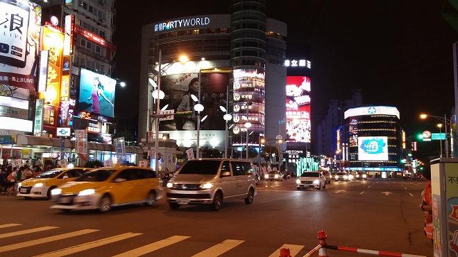 台湾 台北 西門駅周辺