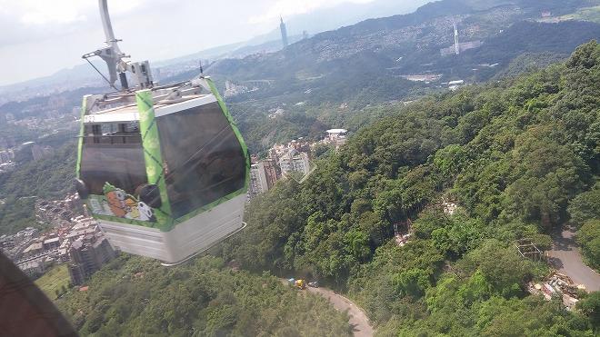 台湾 猫空ロープウェイ
