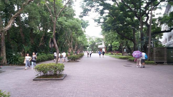 国立台湾大学 台北キャンパス 舟山路