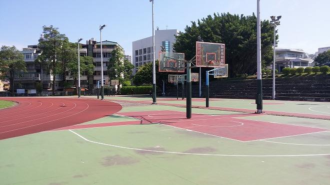 淡江大学のバスケットボールコート