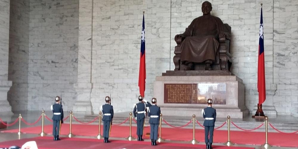 台北 中正紀念堂 儀仗隊交代式