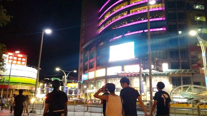 台湾・新北市新店。淡水