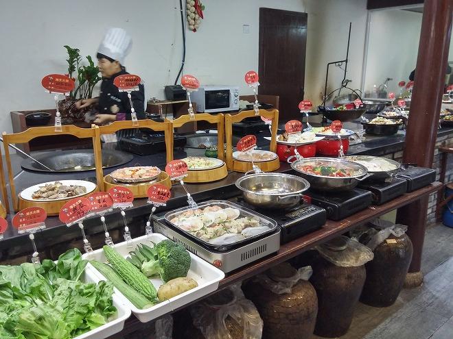 中国 杭州の火鍋店