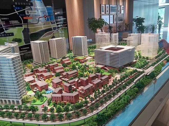 中国 杭州 浙江大学 キャンパスの模型