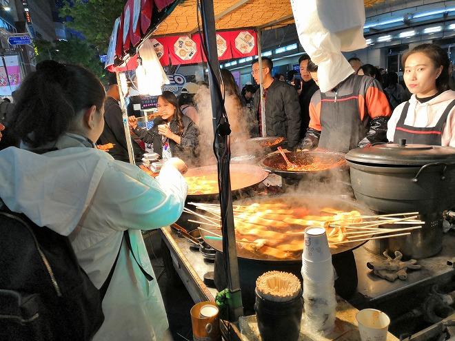 韓国グルメ。ソウルの食べ物