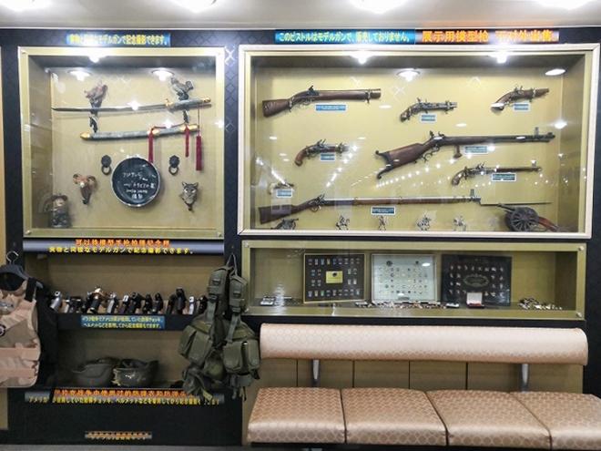 韓国、ソウル。:明洞実弾射撃場