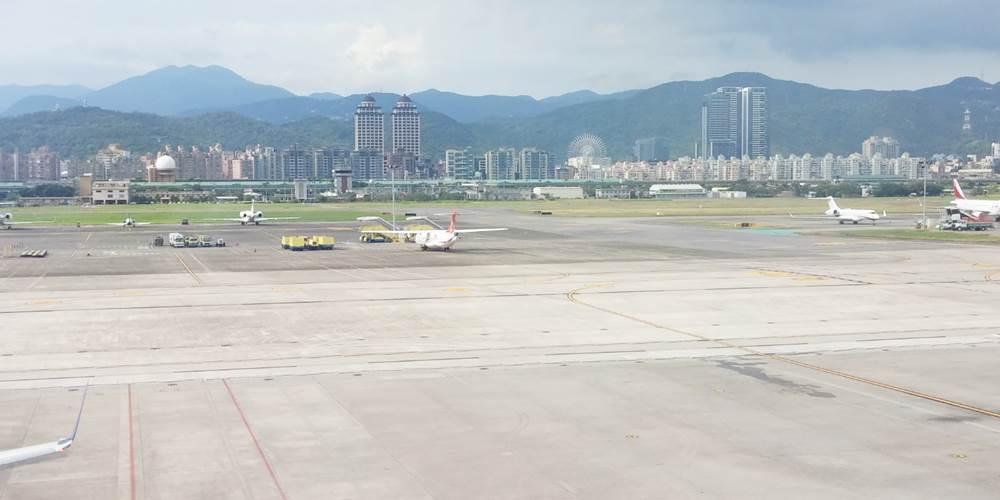 台湾 台北 松山機場