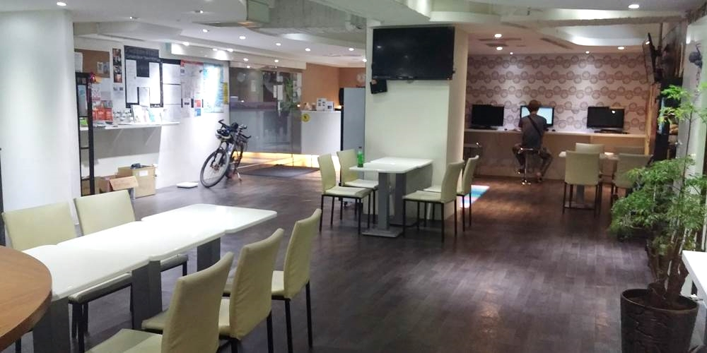台湾・台北市・Green world hostel 忠孝敦化