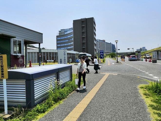 福岡市 国立九州大学 伊都キャンパス 入場ゲート