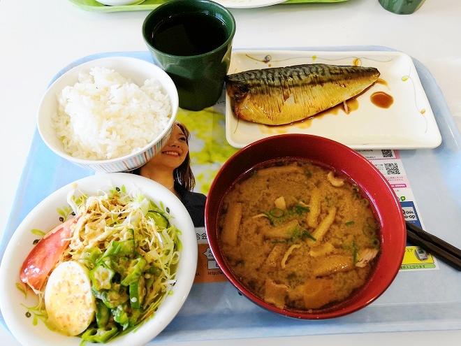 福岡市 国立九州大学 伊都キャンパス 学食の料理