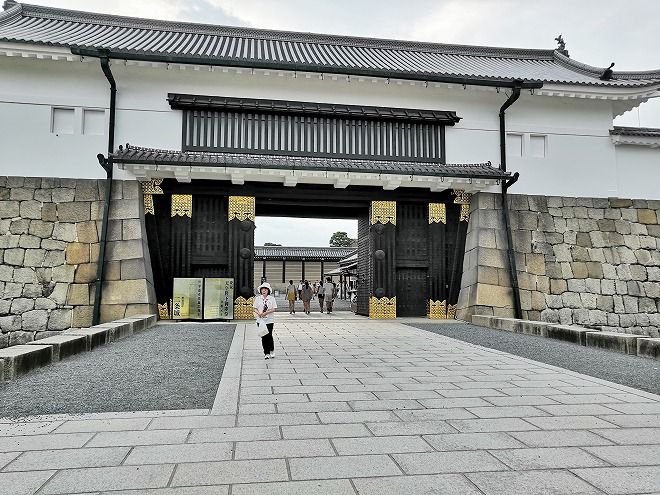 京都 世界遺産 元離宮 二条城 重要文化財「東大手門」
