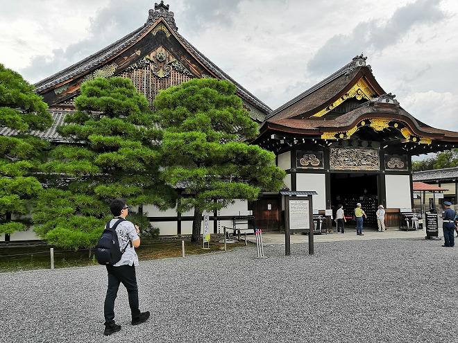 京都 世界遺産 元離宮 二条城 国宝「二の丸御殿」