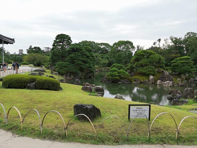 京都 世界遺産 元離宮 二条城 特別名勝「二の丸庭園」