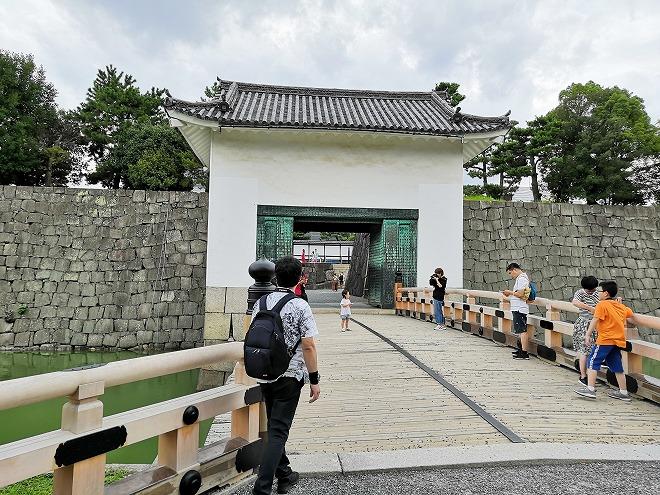 京都 世界遺産 元離宮 二条城 重要文化財「本丸櫓門」