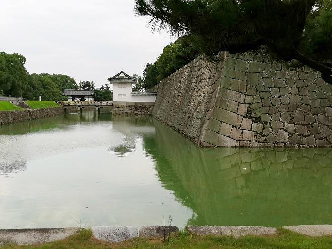 京都 世界遺産 元離宮 二条城 内堀