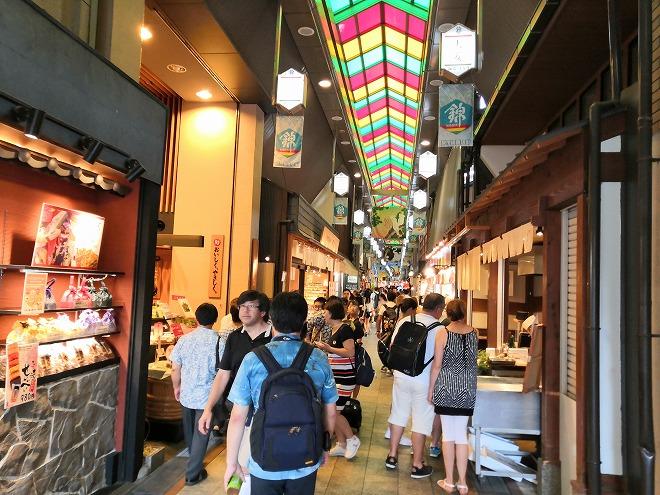 京都 錦市場商店街