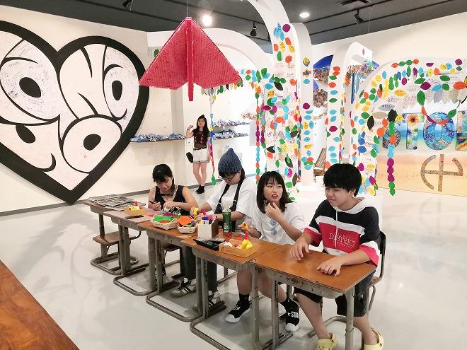 沖縄県 うるま市 海の駅 あやはし館 人気バンド「HY」のコーナー